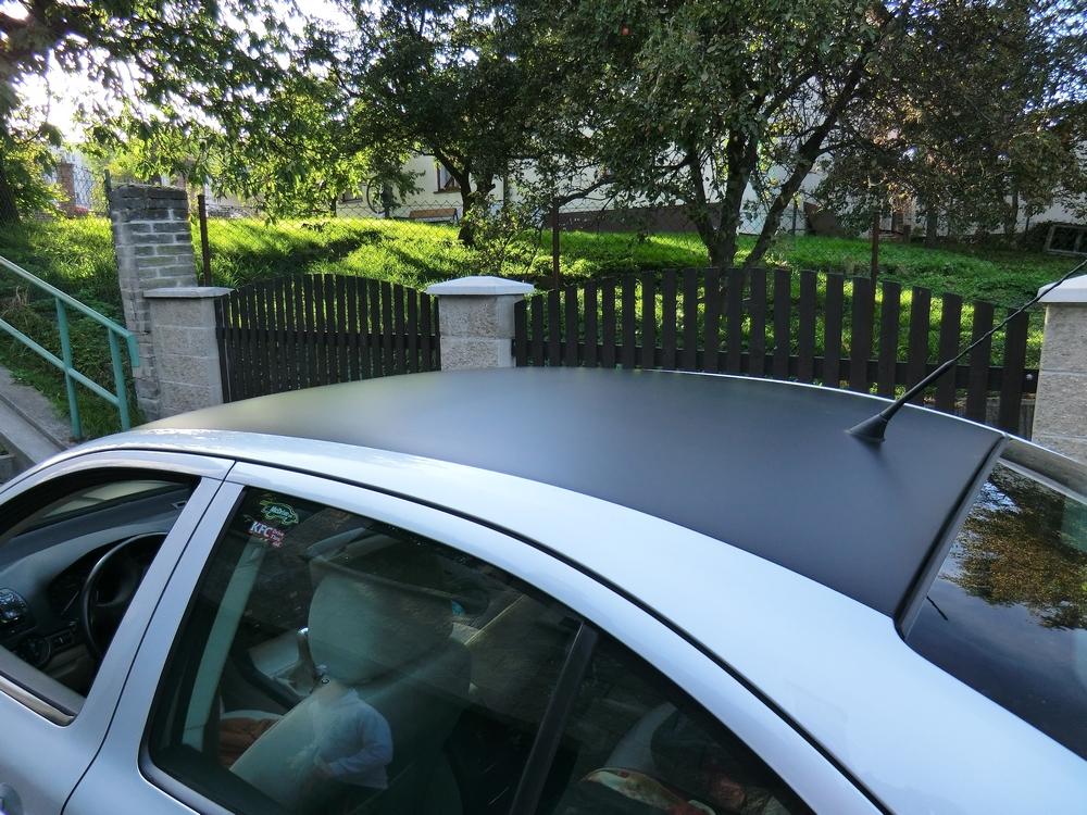 KPMF matná fólie na střechu